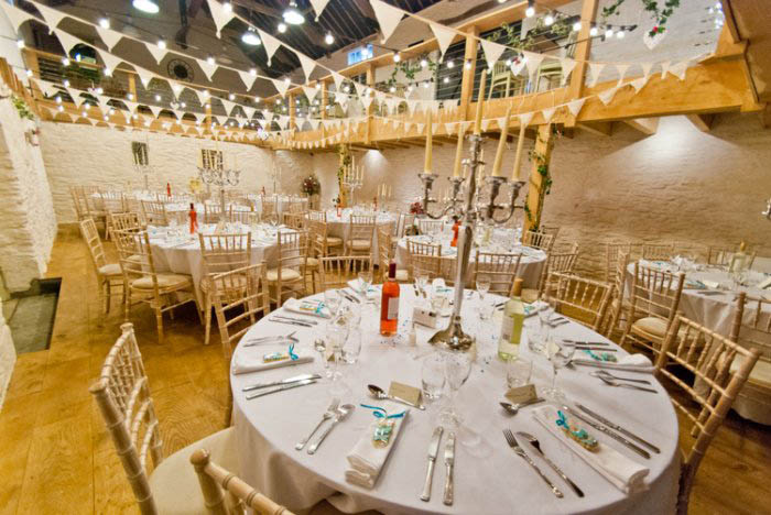 The Beauty Of The Barn Venue For Weddings In Cornwall