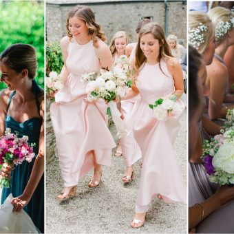 Bridesmaids dresses - Wedding planner in Cornwall