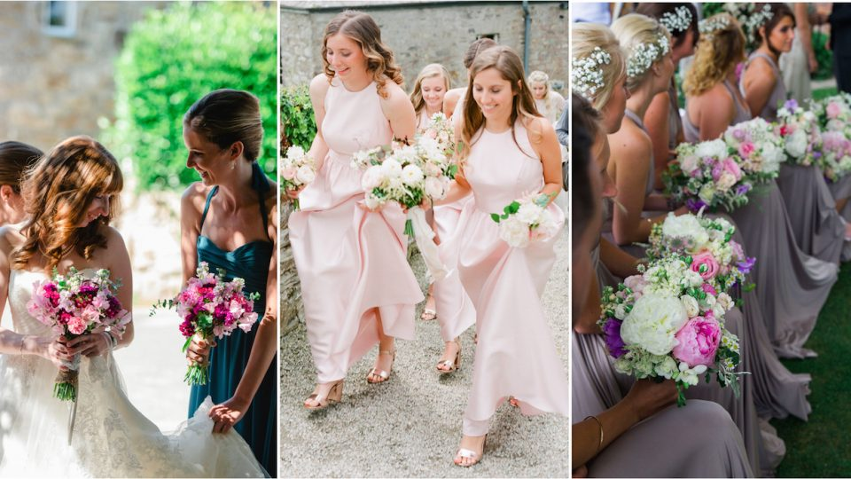 Bridesmaids dresses - Wedding planner in Cornwall